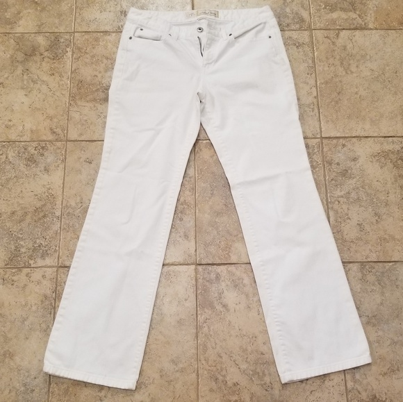 LOFT Denim - LOFT Ann Taylor White Original Boot Cut Jeans